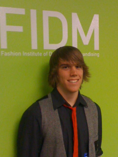 Jake is officially accepted to FIDM