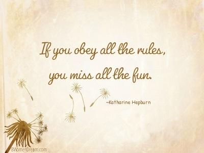 Katharine Hepburn quote