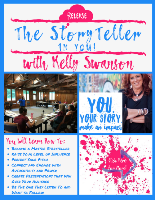 Story/Speech/Presentation Coaching and Consulting with Top Motivational Speaker Kelly Swanson