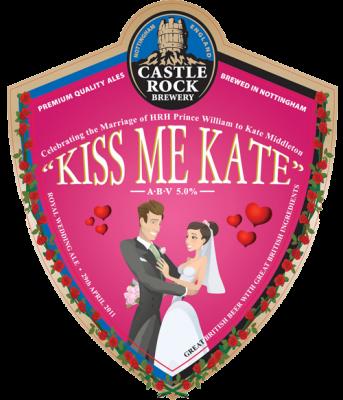 Roual Wedding hangover - kiss me kate beer