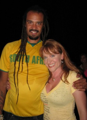 Lisa and Michael Franti