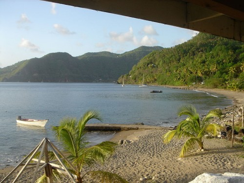 Travel Saturday: Malgretout Beach Saint Lucia