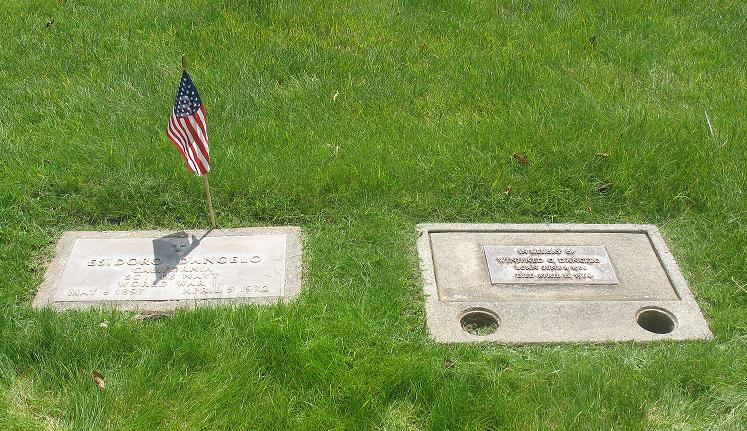 A Memorial Day Remembrance of Dreams Cut Short - Gravestones of Grandpa and Grandpa D'Angelo