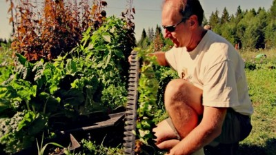 Finding Happiness in Big Sky Country - Mike at Purple Frog Farms