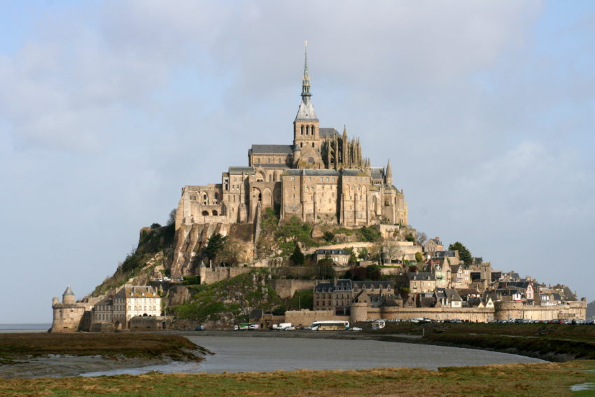 Top 8 Spiritual Travel Destinations for Christmas: Mont Saint Michel, Normandy, France