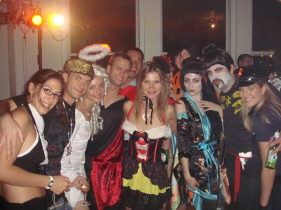 NYC costume party