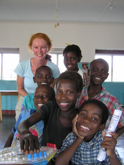 Volunteer Travel Abroad: Natasha at the Lubasa Childrens Home Zambia