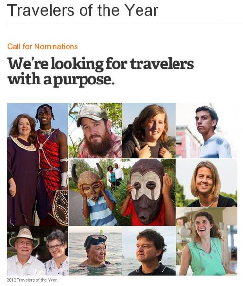 National Geographic Traveler of the Year Contest