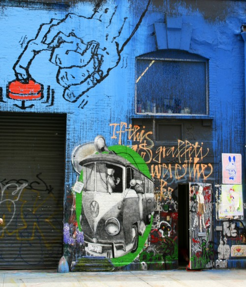 Best City Breaks: New York City or London? New York City street art