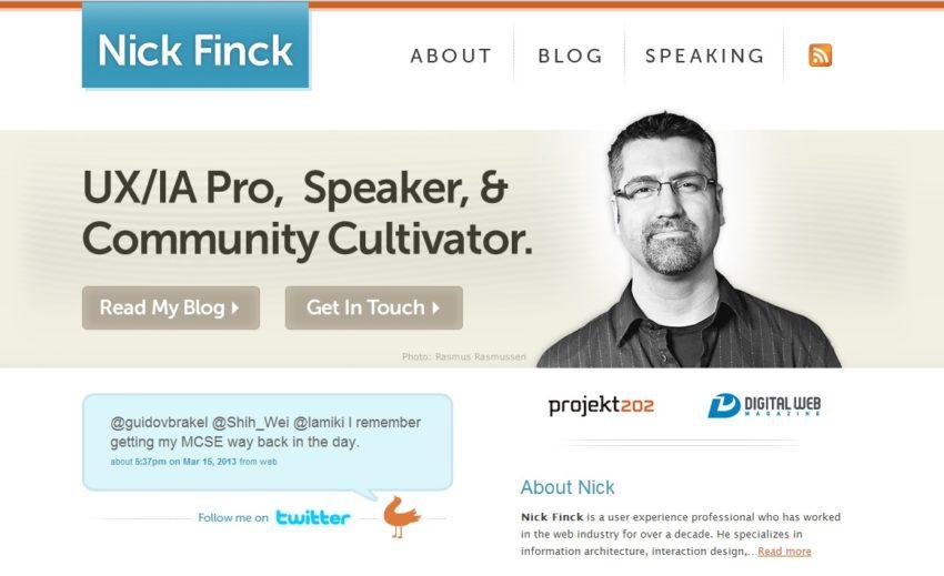 Key to Online Success: Nick Finck