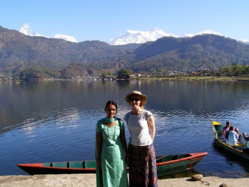Natasha von Geldern in Nepal