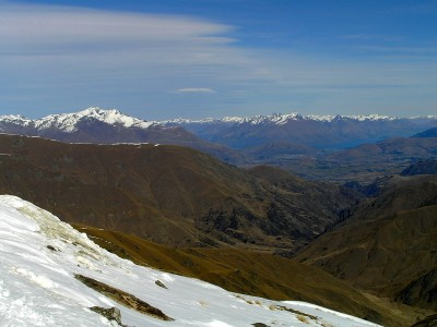 Embark on a New Dream: View from Cardrona skifield, Wanaka, New Zealand