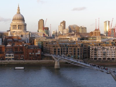 Making the Most of London Travel: London City from the Tate Modern