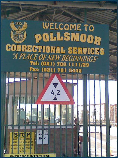 Sue Levy visits Polls moor Prison to motivate women in the Female Sector