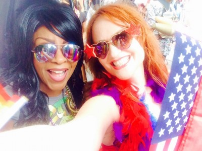 Proud Activist Lisa Meets the New York City Pride March
