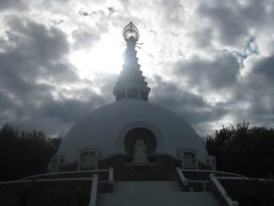 Living the travel dream: Peace Pagoda