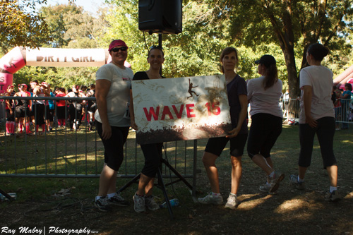 Ready to get dirty - Wave 15 at Dirty Girl 2012