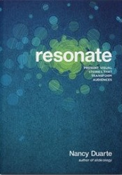 Best Motivational Speaker Books: Resonate: Present Visual Stories that Transform Audiences book by Nancy Duarte available on Amazon