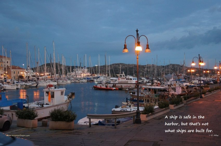 Is Your Dream to Travel by Yacht like Beyonce? Sardinia port