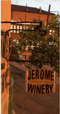 Wine Travel: Arizona Wine Country Jerome Winery