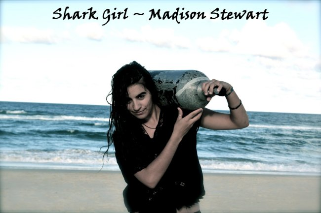Shark Girl Madison Stewart Shows the World How Dreaming Gets Done Right
