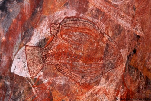 World Travel Dreams: Stone Rock Art at Kakadu National Park