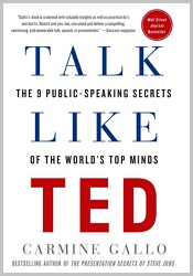Best Motivational Speaker Books: Talk Like TED - The 9 Public-Speaking Secrets of the World's Top Minds