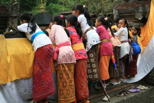 Temple ceremony, Bali (pic Natasha von Geldern)