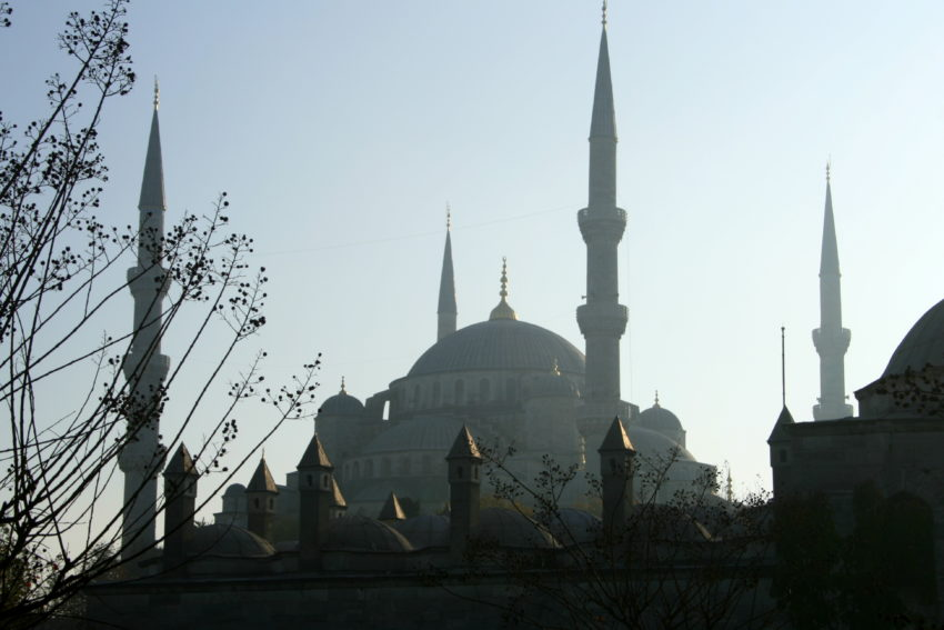 Top 8 Spiritual Travel Destinations for Christmas: The Blue Mosque, Istanbul (pic: Natasha von Geldern)