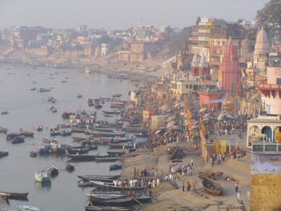 Top 8 Spiritual Travel Destinations for Christmas: The-Ghats-of-Varanasi-India (pic: Natasha von Geldern)