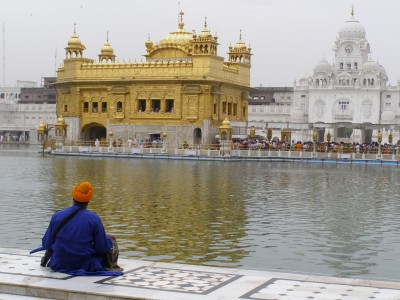 Top 8 Spiritual Travel Destinations for Christmas: The Golden Temple, Amritsar, India (pic: Natasha von Geldern)