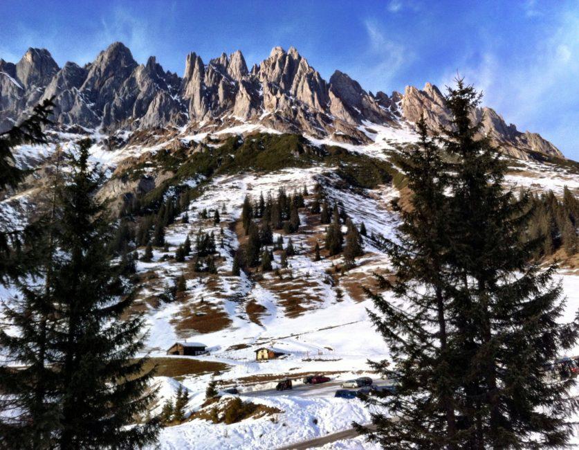 Europe ski travel dreams in Austria