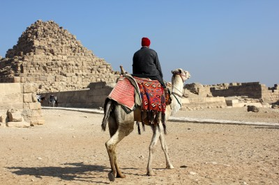 National Geographic Traveler of the Year: The Pyramids at Giza, Egypt (pic - Natasha von Geldern)