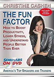 The Fun Factor - How to Boost Productivity, Lower Stress and Understand People Better Than Ever - Seminars On Demand on Amazon