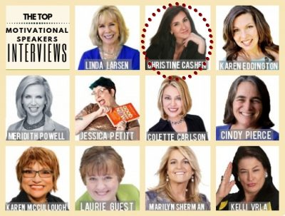 The Top Motivational Speaker Interviews: Christine Cashen #2