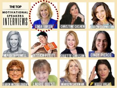 The Top Motivational Speakers Interviews on 8WomenDream - Linda Larsen #1