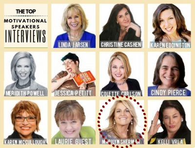 The Top Motivational Speaker Interviews: Marilyn Sherman #10