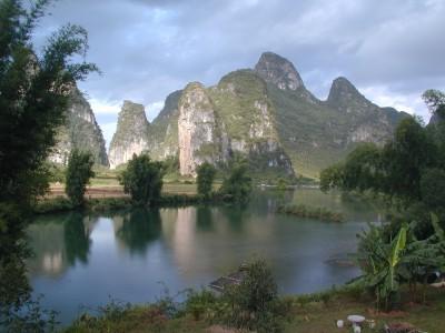 Yangshuo Mountains, China