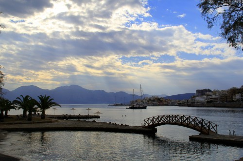 How to Plan your Dream Vacation in Crete - View from Minos Beach Hotel, Agios Nikolaos