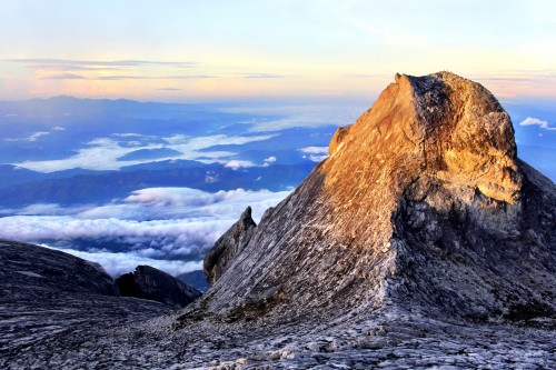 View from Mt Kinabalu, Malaysia
