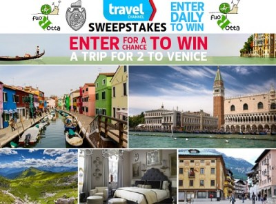Dream Italy Travel? Win a Trip for 2 to Venice Italy with The Travel Channel Sweepstakes