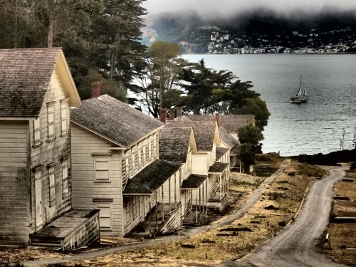 Wordless Wednesday Angel Island trail San Francisco images
