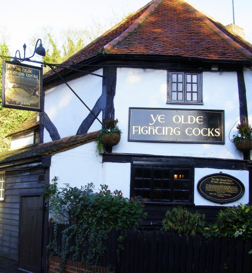 Ye-Olde-Fighting-Cocks-St-Albans