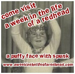 A week in the life of a redhead ad