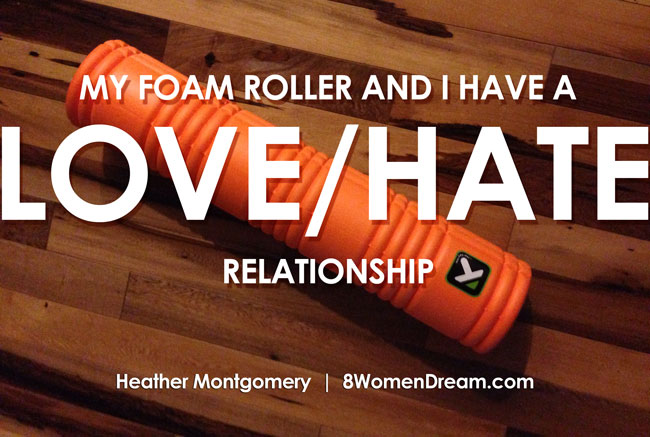 Active Recovery Workout - My Foam Roller and I Have a love/Hate Relationship