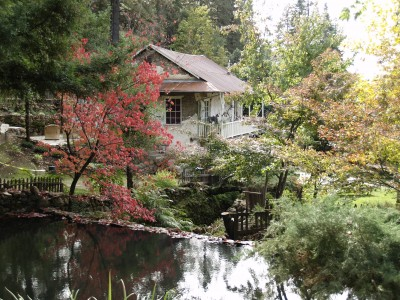 Dream Images Inspired by California Wine Country: Jack London's Estate in the fall in Sonoma County California