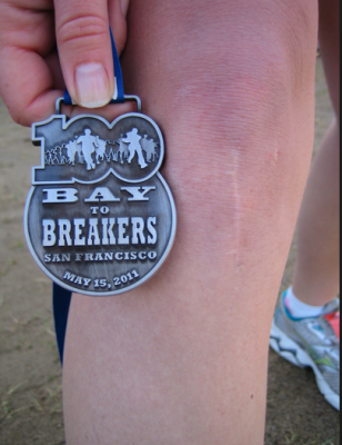 100th anniversary bay to breakers medal