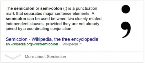 What Does a Blog Editor Do? Reasearch semicolon use