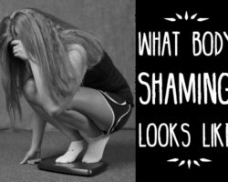 Big Dreams Interrupted: What Body Shaming Looks Like