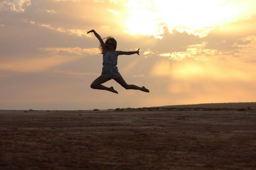Quarter-Year Check-In: Are You Living Your Dreams? Leaping for joy